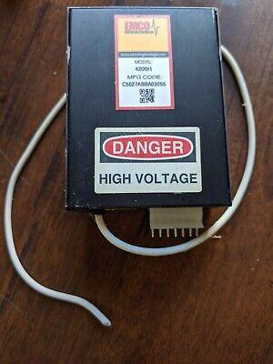 Emco High Voltage 4200r Hv Power Supply 24 V Input 20 Kv Output