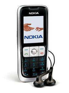 Nokia 2630 - Schwarz (Ohne Branding, Simlock) Handy Neuware