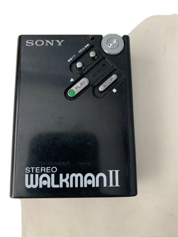 SONY Portable Cassette Player WM-2 F/S in good condition