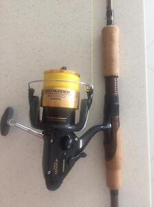 Shimano Baitrunner 4000D with Raider 5-10kg rod Broadbeach Gold Coast City Preview
