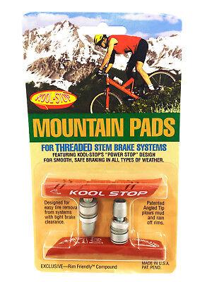 Kool Stop Thinline Threaded V-Brake Brake Pads Red Mountain