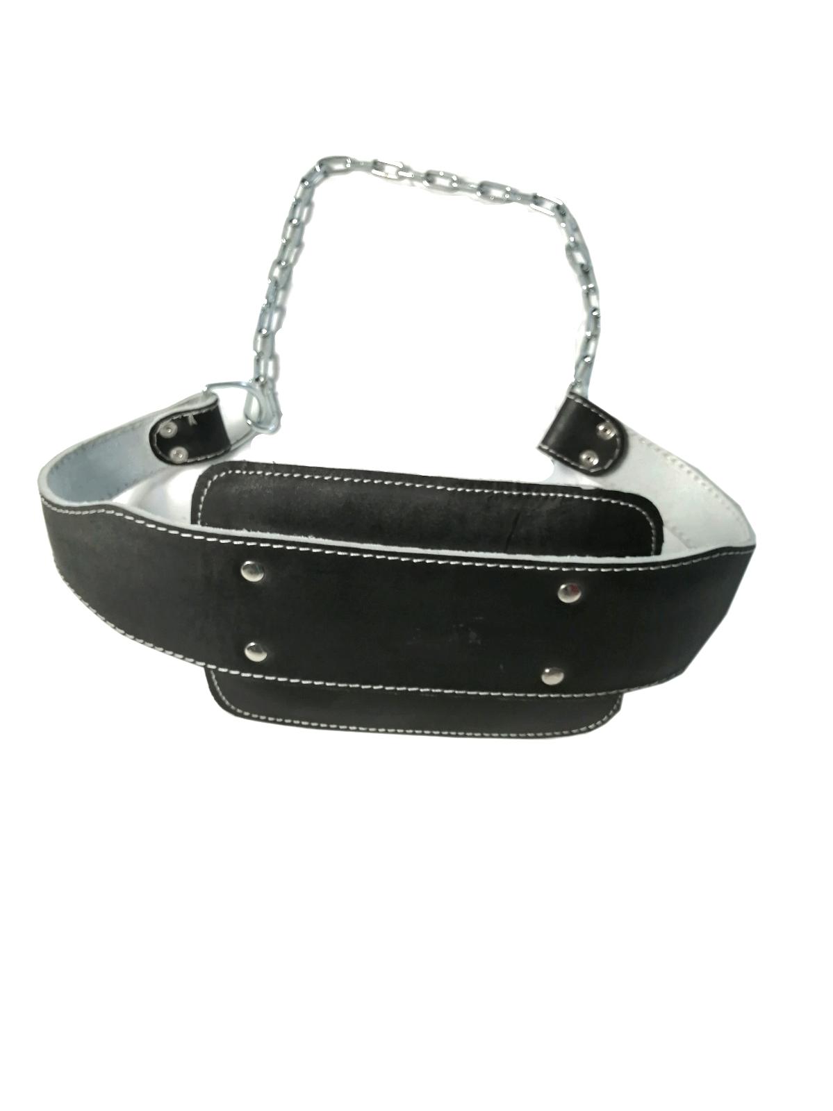 Dip-Gürtel Leder gepolstert Klimmzuggürtel Dipping-Belt Klimmzug Gürtel Gewicht