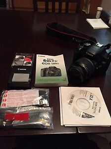 Canon EOS Rebel T1i DSLR camera package