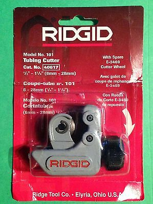 Ridgid Model 101 Mini Tubing Cutter. 14 To 1 18. New In Package..