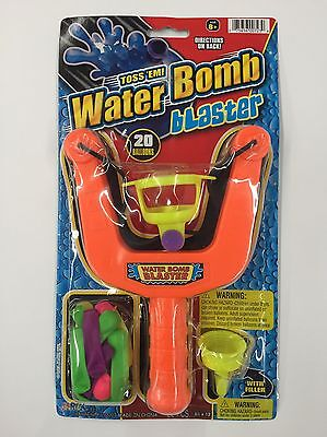 Water Bomb Blaster Slingshot With 20 Water Ballons (Water Bomb Slingshot)