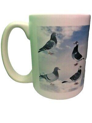 Racing pigeon mug extra large christmas gift present xmas gift