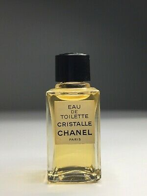 CHANEL CRISTALLE VINTAGE NEW 4ml miniature EDT Collectible RARE