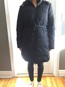 Medium black Maternity Coat from old navy