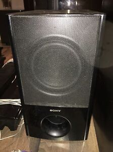 Sony surround home theatre speakers with sub hoofer