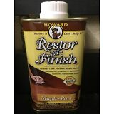 NEW HOWARD RESTOR-A-FINISH Maple Pine Wood Furniture Restorer 8 oz