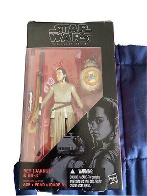 Star Wars The Black Series Rey(Jakku) & BB-8 #3 6 Inch New
