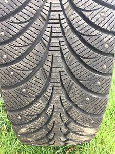 New Goodyear Studded Winter Tires and Rims