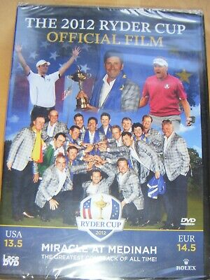 """BRAND NEW DVD The 2012 Ryder Cup: Official Film """"MIRACLE OF MEDINAH"""""""