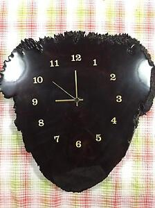 Handcrafted wooden clock Bedford Bayswater Area Preview