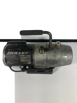 Yellow Jacket 93600 Bullet 2 Stage Vacuum Pump No Reserve