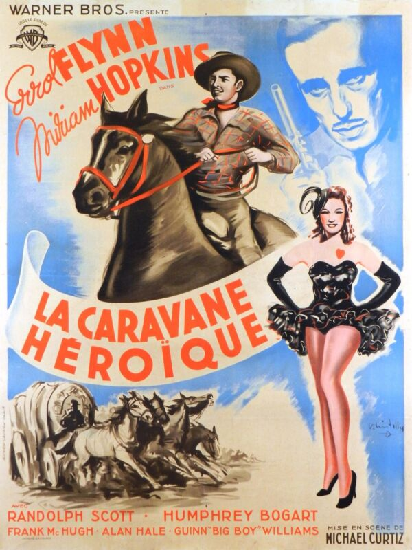 VIRGINIA CITY - ORIGINAL FRENCH POSTER - VERY RARE