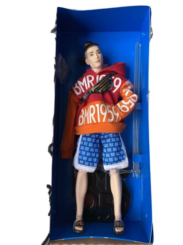 Barbie Ken Doll BMR1959 Bold Logo Hoodie and Basketball Shorts GHT93 Man Bun