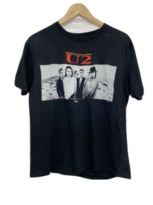 Original True Vintage U2 T-Shirt Tee The Joshua Tree Tour 1987 Concert Rare HTF