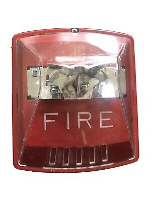 Wheelock Exceder Hsr Fire Alarm Horn Strobe 127249 C122 Works Perfectly