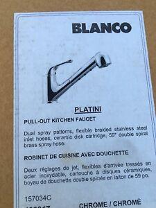 Blanco Platini (Chrome) kitchen PO
