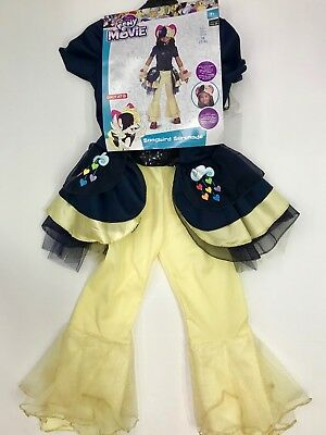 Girls My Little Pony the Movie Songbird Serenade Costume Medium 7/8 Halloween