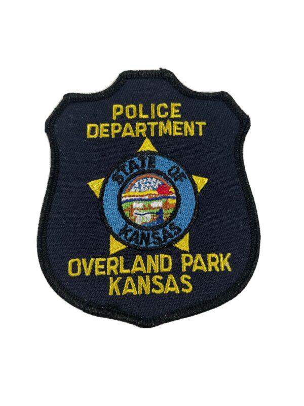 Overland Park Police Department Kansas Patch