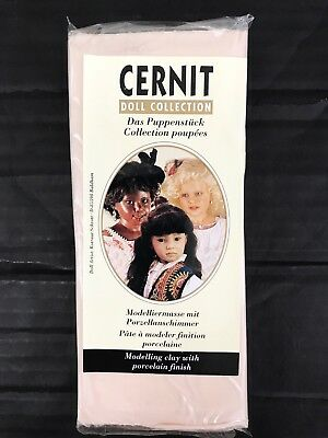 CERNIT Doll Collection Modelling Clay with Porcelain finish 500g 17.7 oz Sun Tan