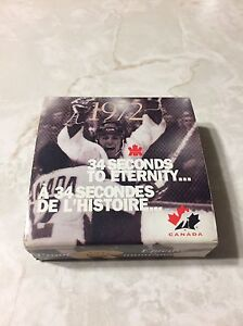 1972 Series Goal Proof Canadian Silver Dollar Hockey Coin