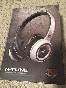 Brand New & Sealed Monster NTune On-Ear Headphones! White!