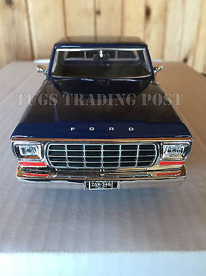 1979 Ford F-150 Pickup Truck Blue 1:24 Scale Collectible Diecast Model 79346BL*