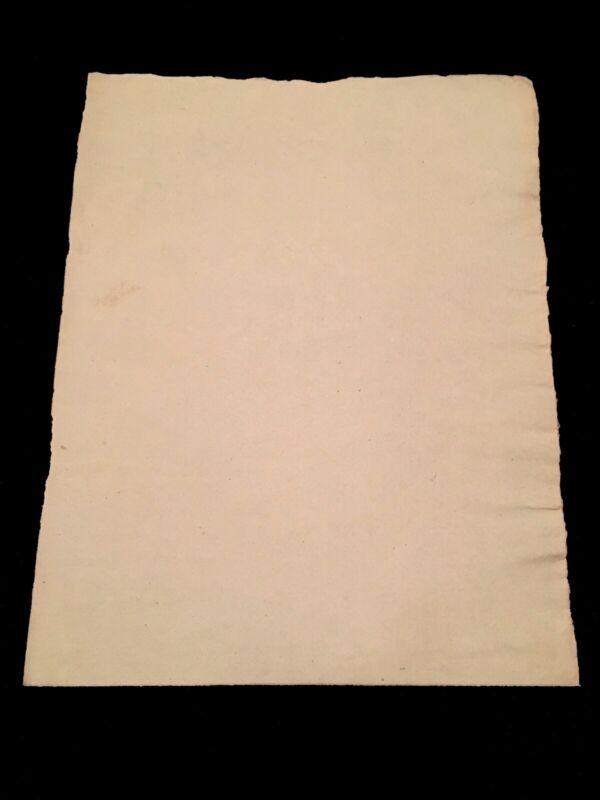 BLANK RESTORATION PAPER 1700s