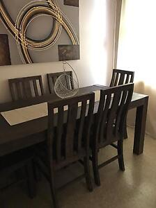 Dining table with 6 x chairs Villawood Bankstown Area Preview