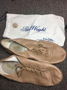 Paul Wright Skin Colour (Tan-Nude) Jazz Lace ups size M 7.5 W 10 Prospect Prospect Area Preview