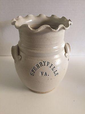VA Pottery 2 Handled Vase