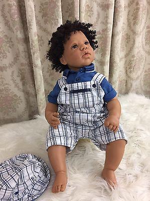 """Lee Middleton Custom Full Vinyl Toddler Doll """"One Special Little Boy"""""""