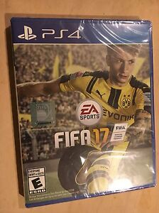 Brand new fifa 17 ps4