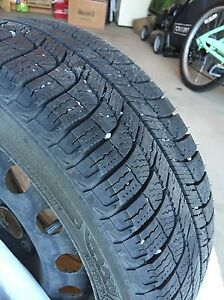 Winter Tires on Rims Edmonton Edmonton Area image 2