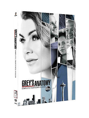 Grey's Anatomy Season 14 DVD Box Set Sealed UK Free PP