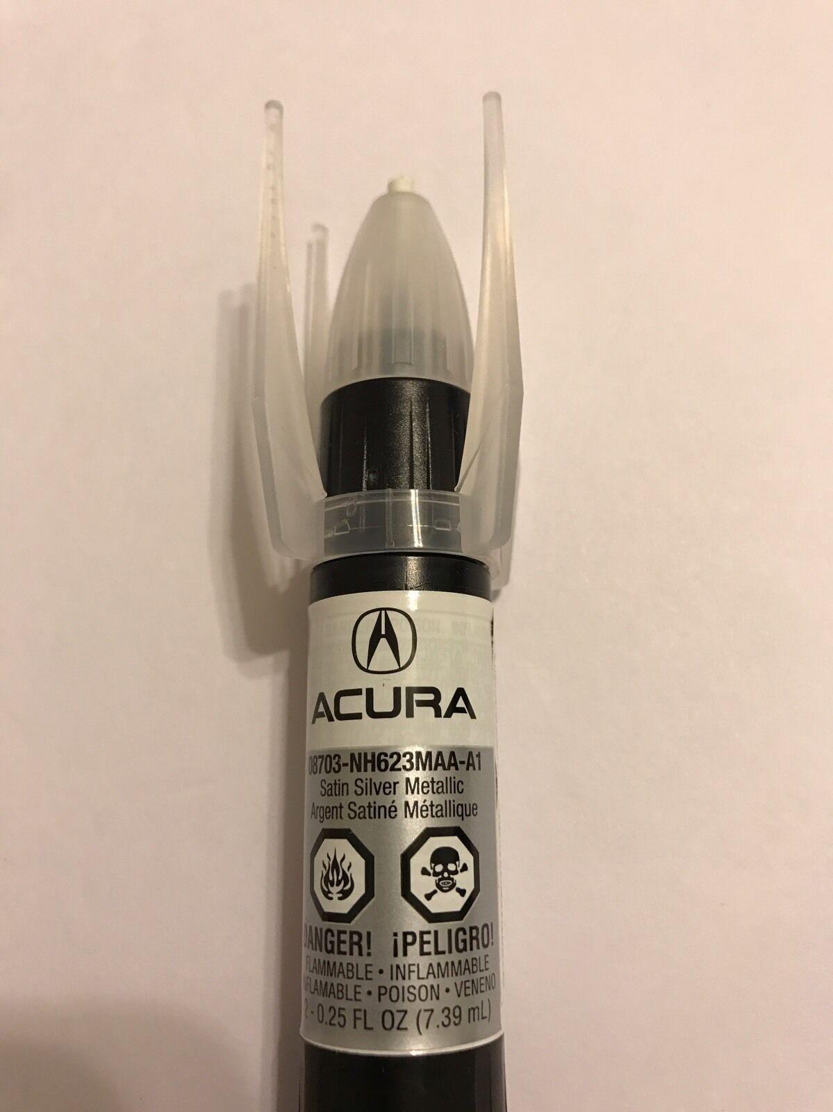 Genuine OEM Honda Acura Touch Up Paint NHM Satin Silver - Acura touch up paint