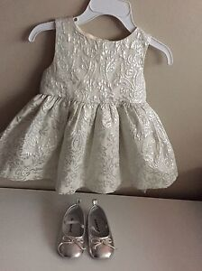 6-12 month girls holiday outfit