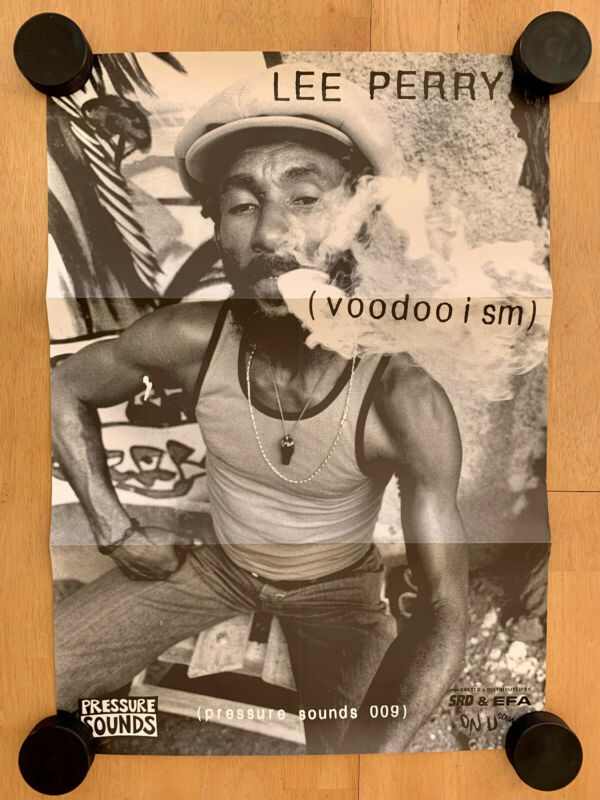 Lee Perry (voodooism) 21x30 Promotional Poster On-U Sound Pressure Sounds
