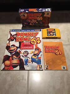 Donkey Kong 64 complete with Official Strategy Guide