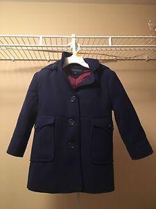 Toddler Girl Tommy Hilfiger Dress Coat
