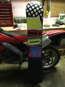 Option board with Ride bindings and Ride board Edmonton Edmonton Area image 4