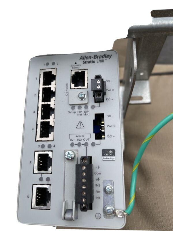 Allen Bradley 1783-BMS06TL Stratix 5700 Ethernet Managed Switch