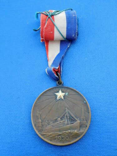 WW I GOLD STAR Mothers Pilgrimage MEDAL Bronze 1930 Tiffany & Co #316