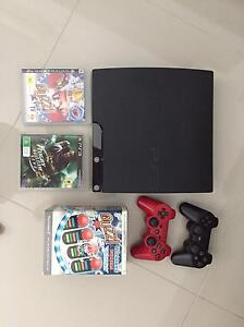 PlayStation 3. 2 games 2 controllers Strathfield Strathfield Area Preview