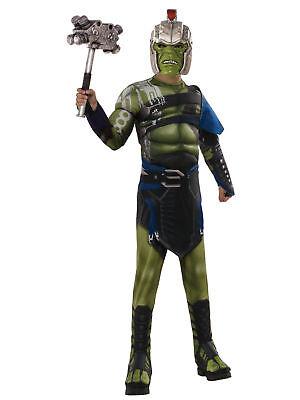 Marvel Thor Ragnarok  War Hulk Child Muscle Costume Size Large