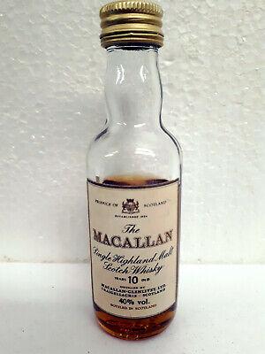 Whisky Miniatur - The Macallan - Single Highland Malt Whisky - Scotland