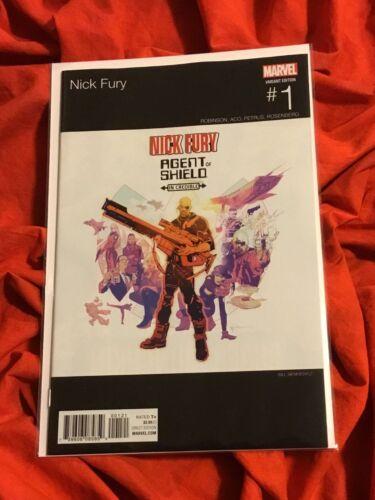 NICK FURY #1~HIP HOP SIENKIEWICZ VARIANT~SAMUEL L. JACKSON ROLE AVENGERS MOVIE